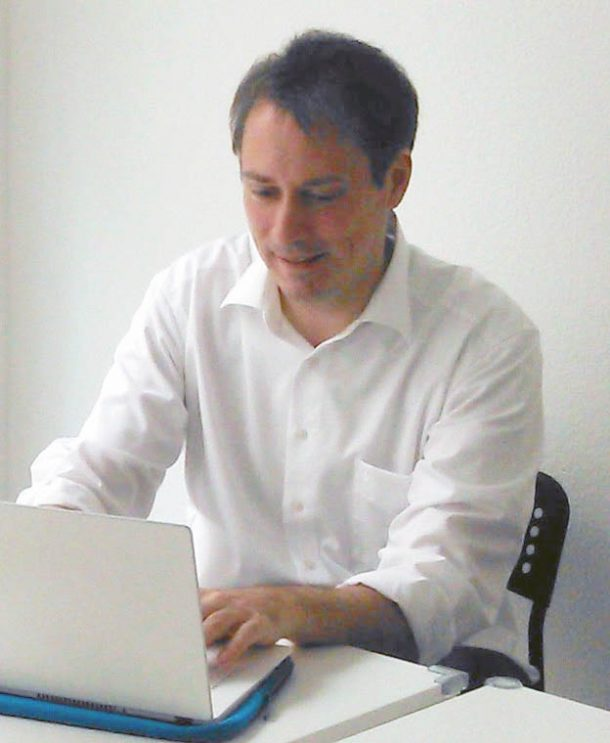 Pierre Kerchner beim Helfen von Windows Update Problemen